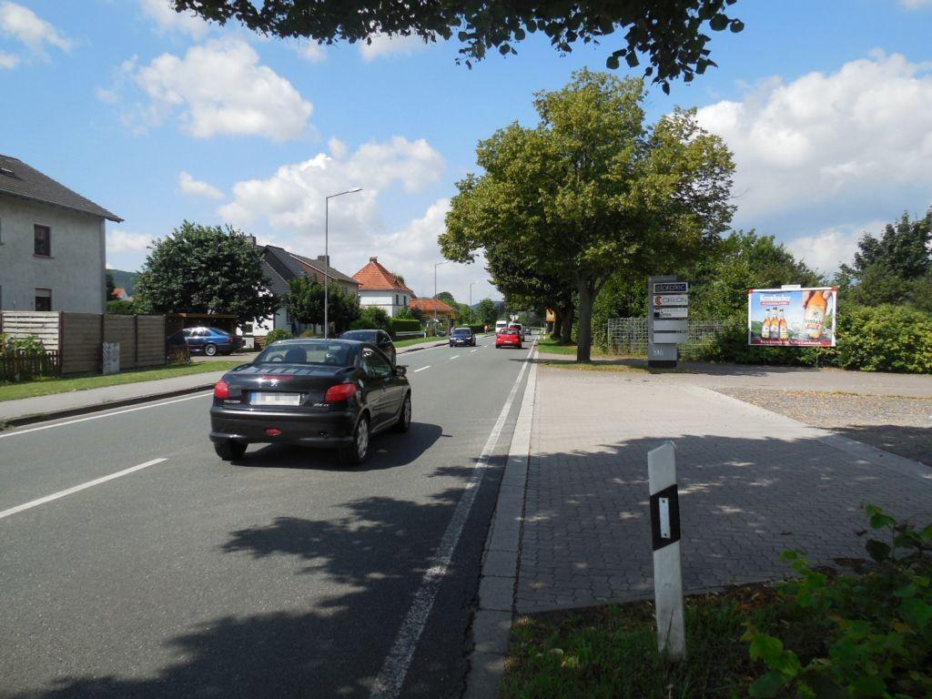 Lübbecker Str. 246 (B65) /Einfahrt