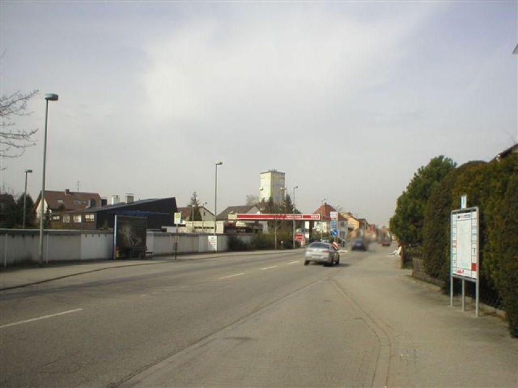 Speyerer Str.  / neb. Esso-Tankst.
