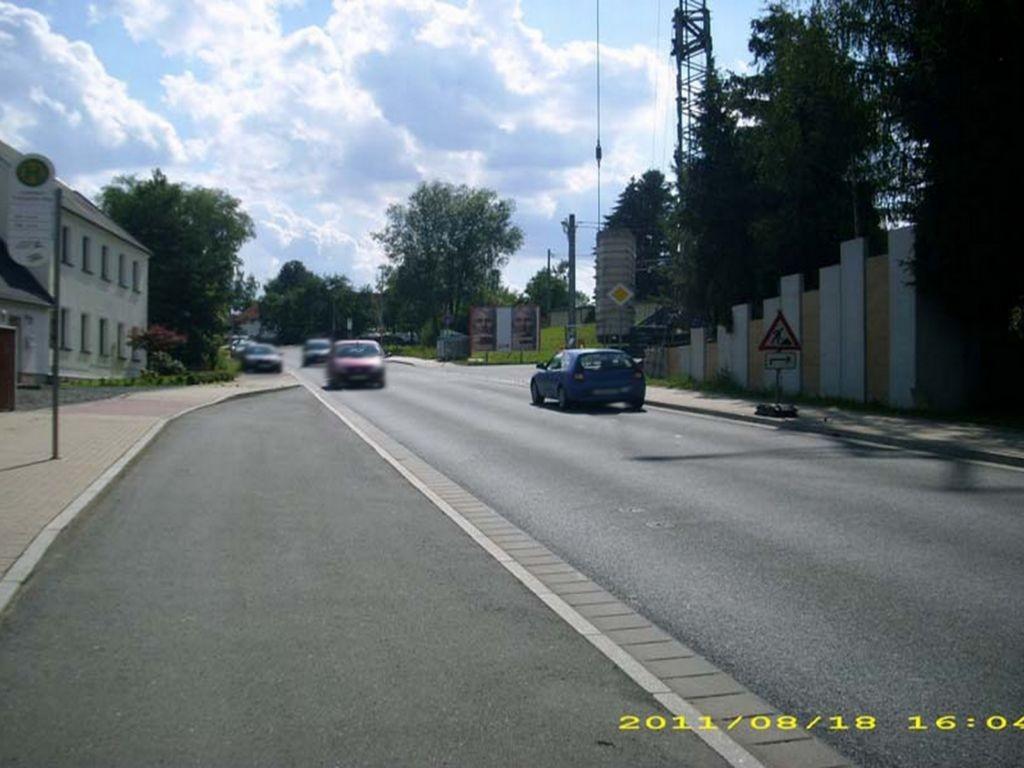 Hofer Str. geg. Nr. 139 (S 307)  quer / Zuf. Fuchspöhler Weg