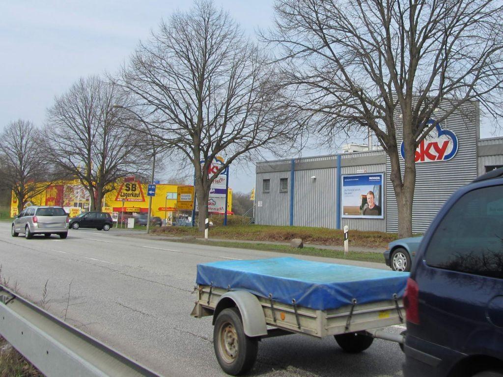 Kieler Chaussee 2-4 (B 202)  / geg. BAB-Abf. li.