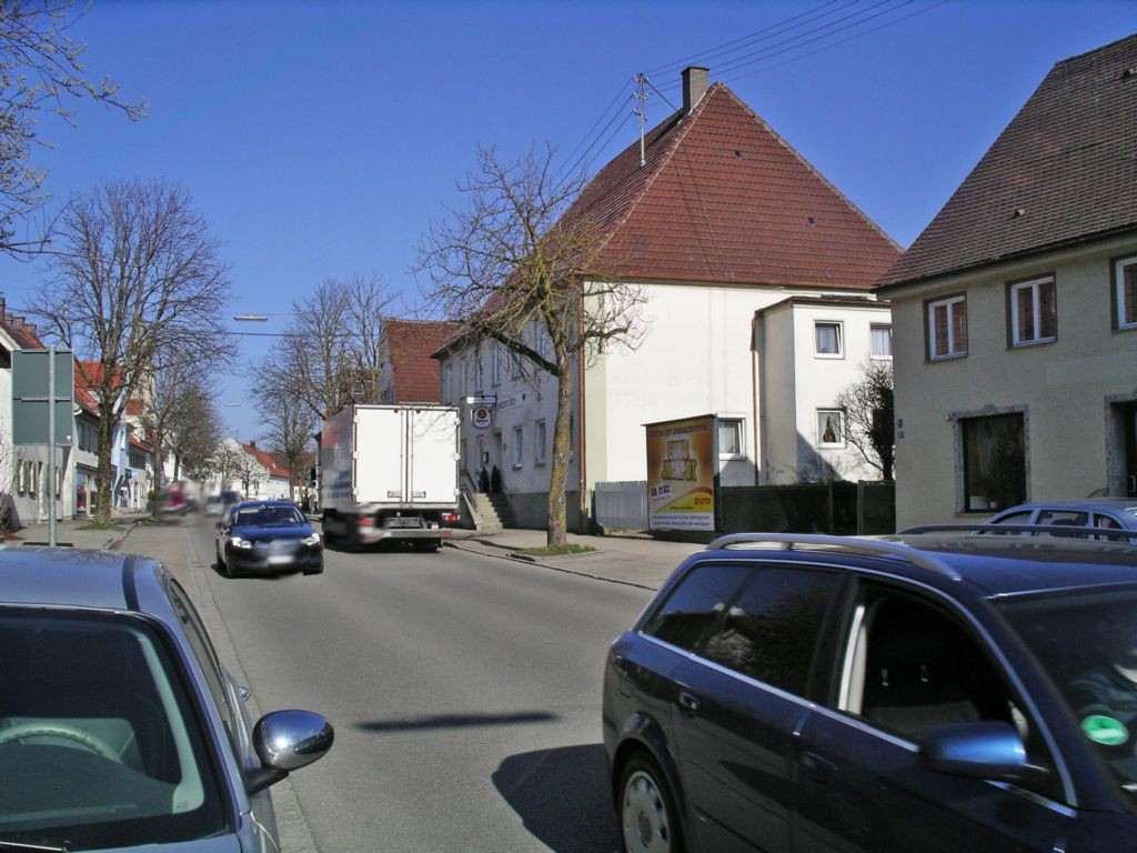 Hauptstr. (B 16) bei Gasthaus Stern
