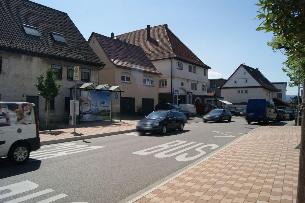 Wieslauftalstr. 59  / geg. Rathaus