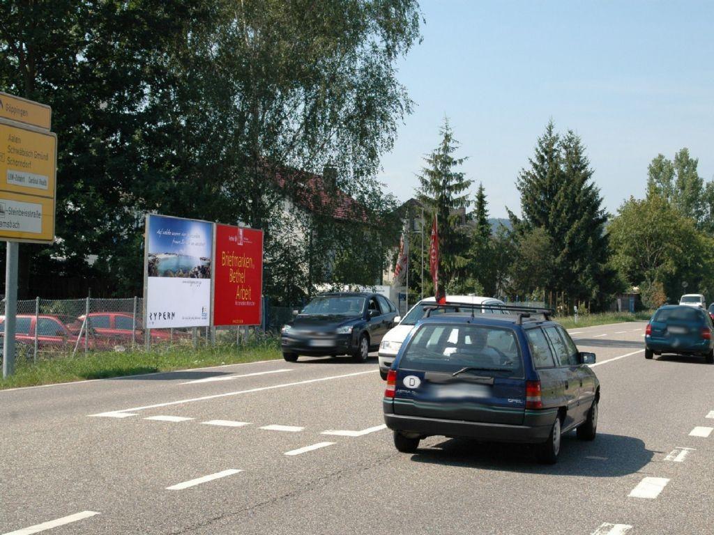 Waiblinger Str. (B 29)  / Steinbeisstr. re.