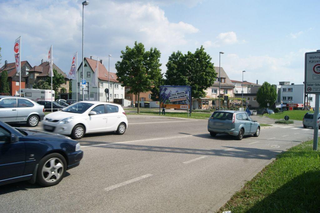 Kreisverkehr Winnender Str.  / Korber Str. RS Fahrtr. Stadt