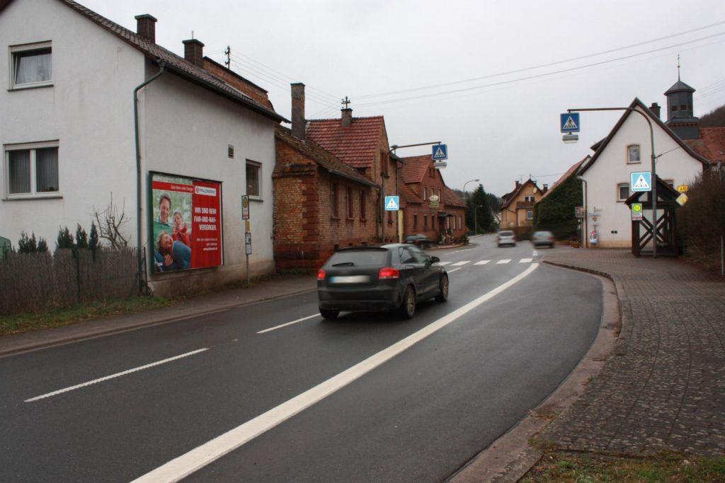 Hauptstr. (B 48) / Friedhofstr.
