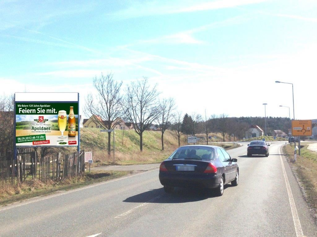 Legefelder Hauptstr. (B 85)  quer RS / Am Kreisverkehr