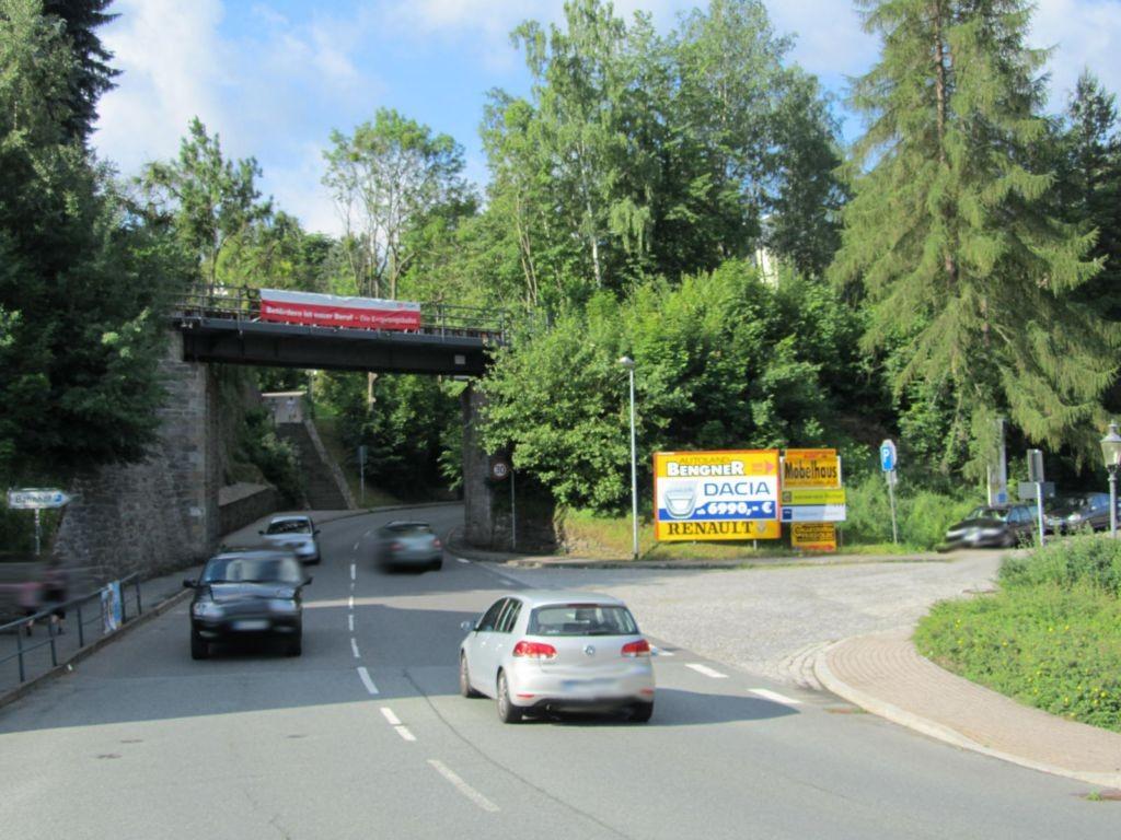 Alte Marienberger Str. / Bahnhofstr. quer
