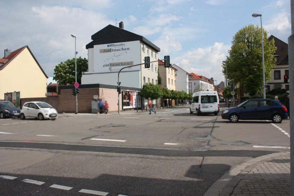 Poststr. / Kaiserstr. / geg. Arbeitsamt