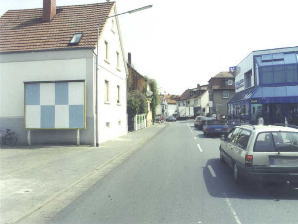 Hauptstr. 59  / Nh. Bahnhofstr. quer