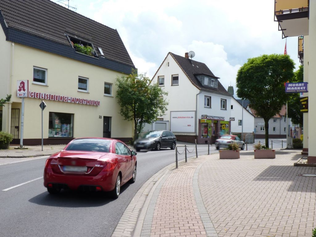 Wächtersbacher Str. 35 (B276) Nh. Ysenburger Str. - quer