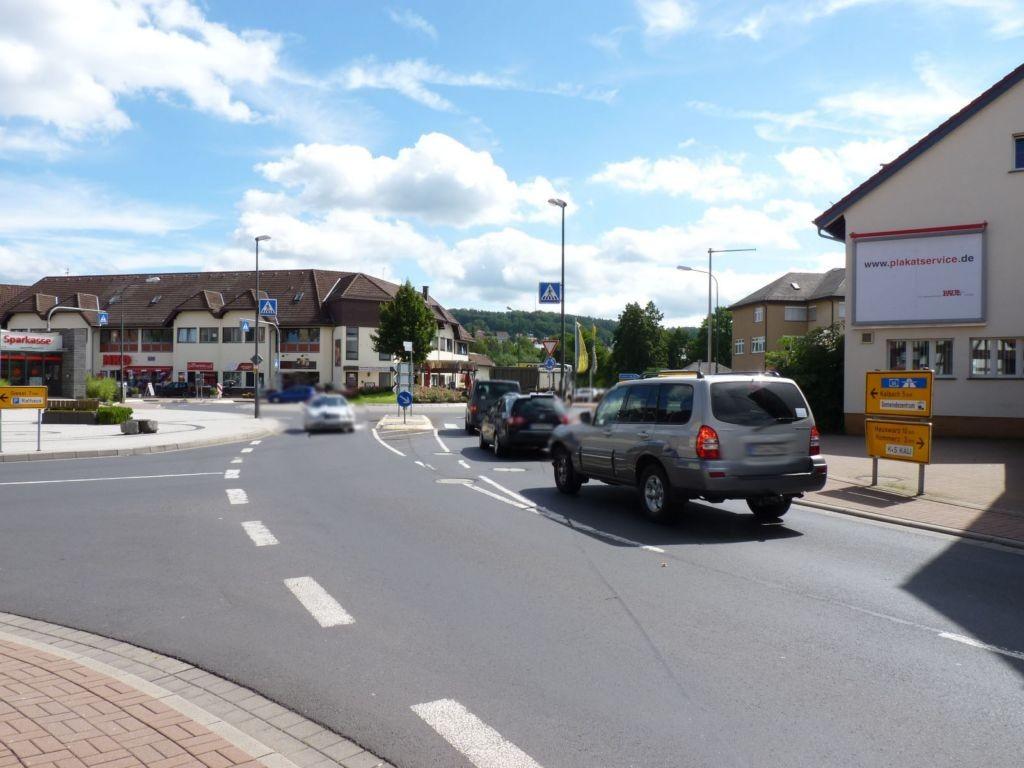 Lindenplatz 2 (L 3206)  / Fuldaer Str. (L 3206) - quer