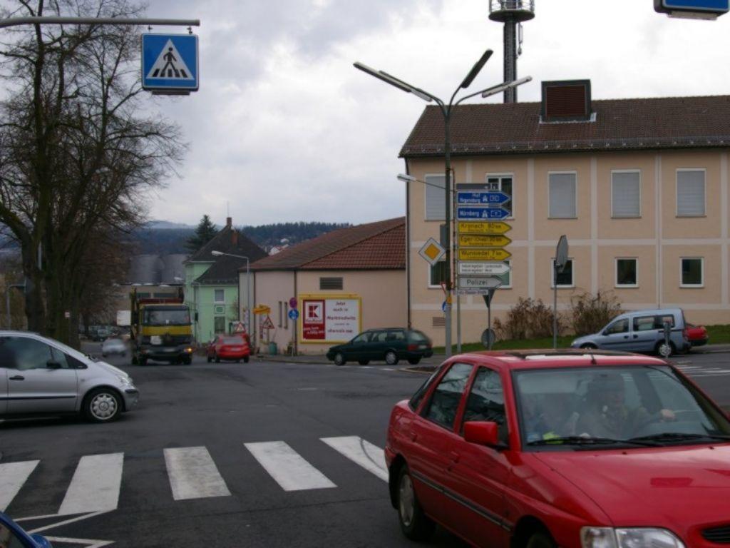 Sechsämterplatz  / geg. Einm. Goethestr.
