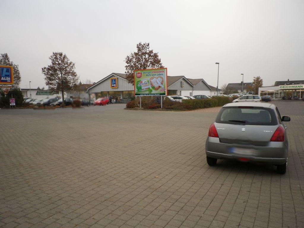 FMZ Turmstr. (L 3377)  / In den Gründen / Aldi, Logo u. Rewe (PP)