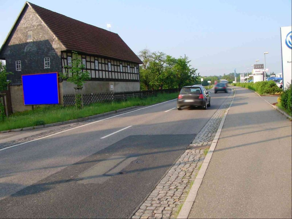 Glauchauer Str. 6 (B 175)  geg. Autohaus quer