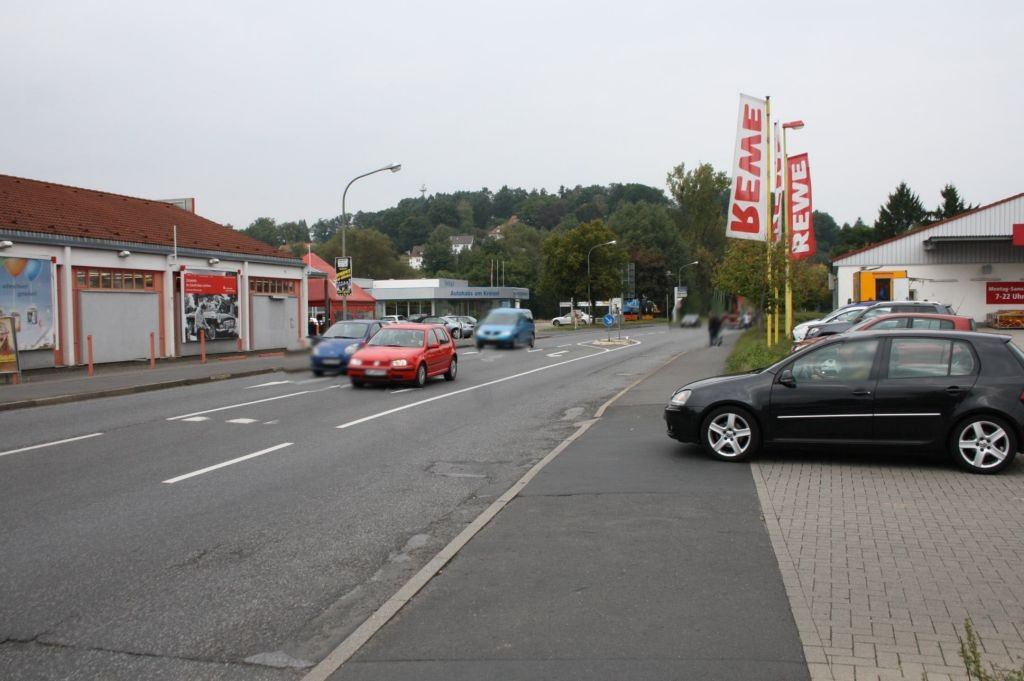 Walkmühlenweg 7 (B 454)  re. /  Rewe Einf. geg.