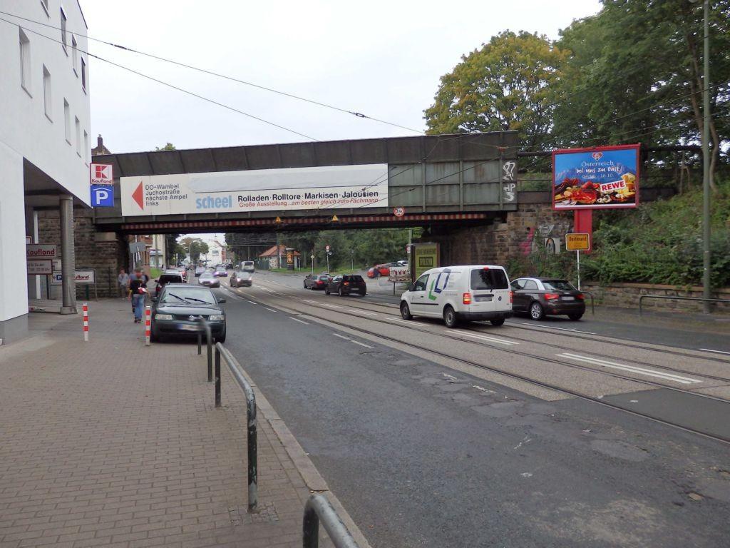 Wambeler Hellweg  / Ri. Akazienstr. / v. Brücke re.