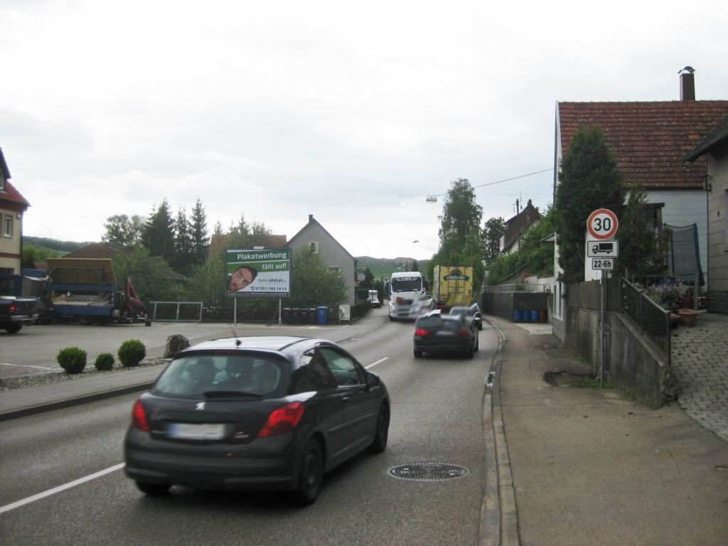 Lauchheimerstr. 22 (B 29)  RS / Metzgerei Gantner