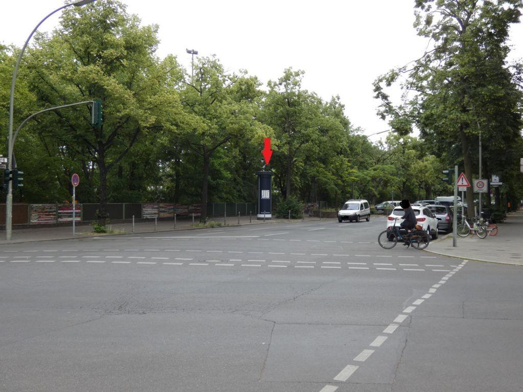 Blücherstr. ggb. 27-28 nach Baerwaldstr.