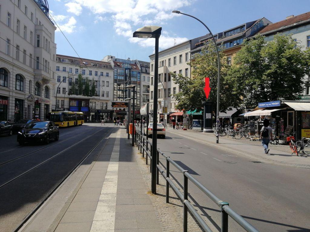 Oranienburger Str. vor Friedrichstr.