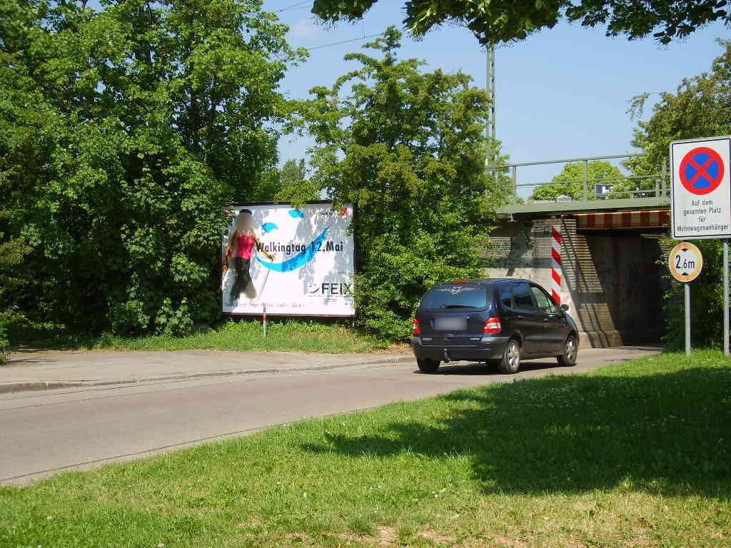 An der Kaiserwiese/vor Ufg./Südseite li.