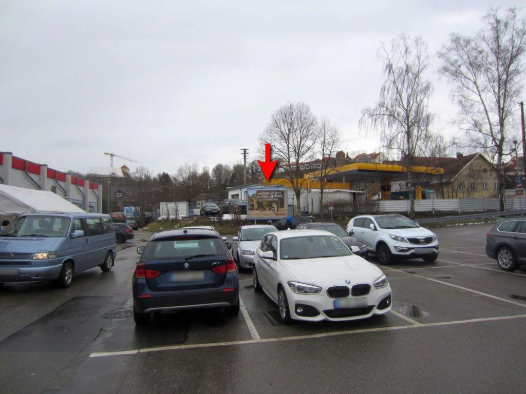 Augsburgerstr.  12/Rewe Einf. re.