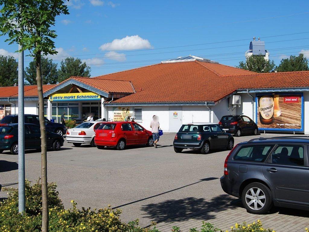 Niederwiesenstr.  27/EDEKA re. vom Eing.