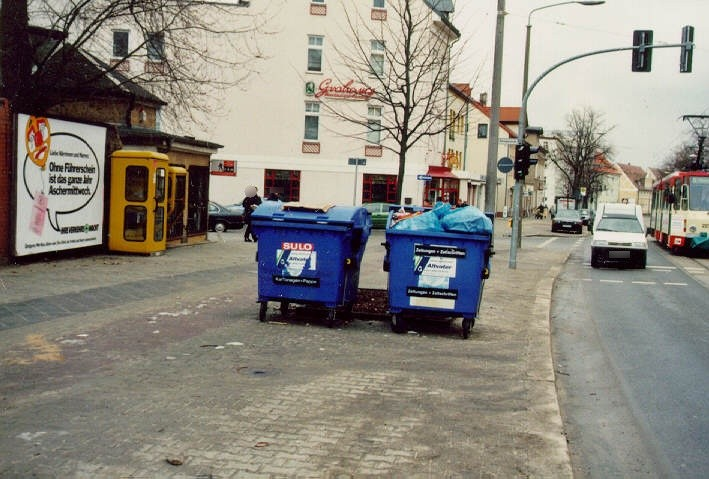 August-Bebel-Str./Witzlebenstr.