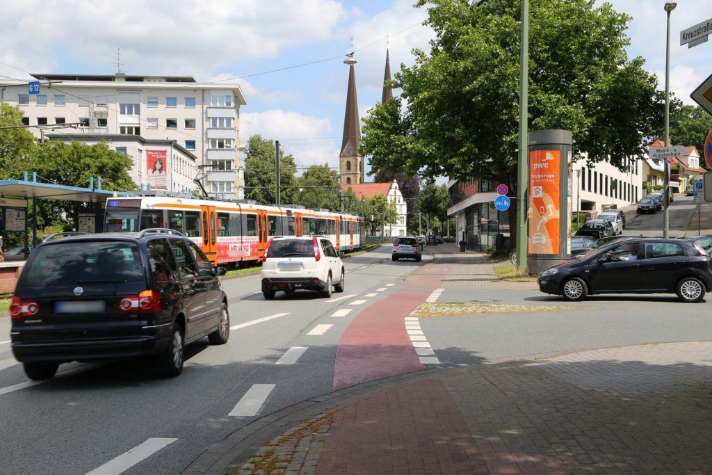 Kreuzstr./Gadderbaumer Str./S.3