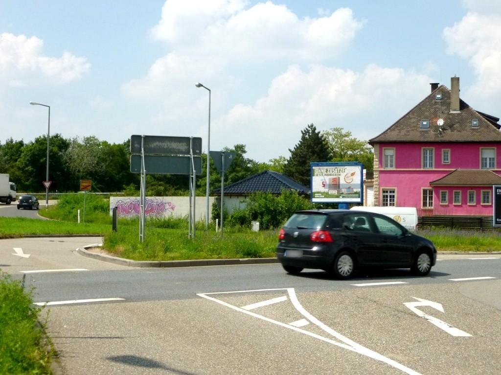 Schwetzinger Landstr.  45/Kreisverkehr CS