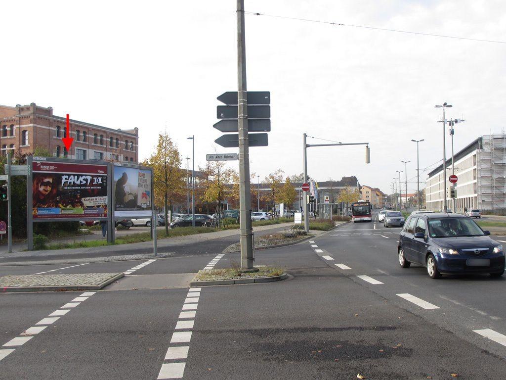 Frankfurter Str./Am Alten Bahnhof li.