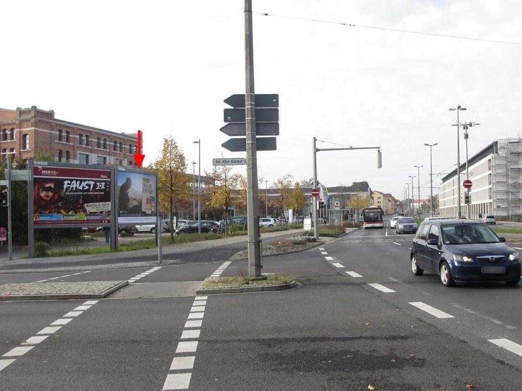 Frankfurter Str./Am Alten Bahnhof re.