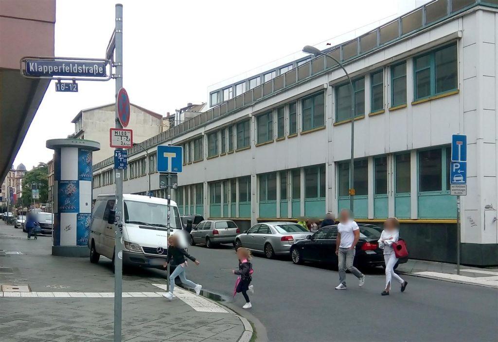Heiligkreuzgasse 2/Klapperfeldstr.