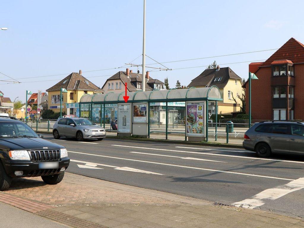 Berliner Str./Messeweg sew. rechts RS