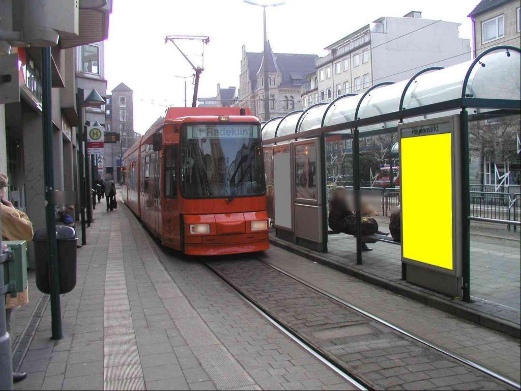 Bohlweg/Hagenmarkt Nord saw. li./RS