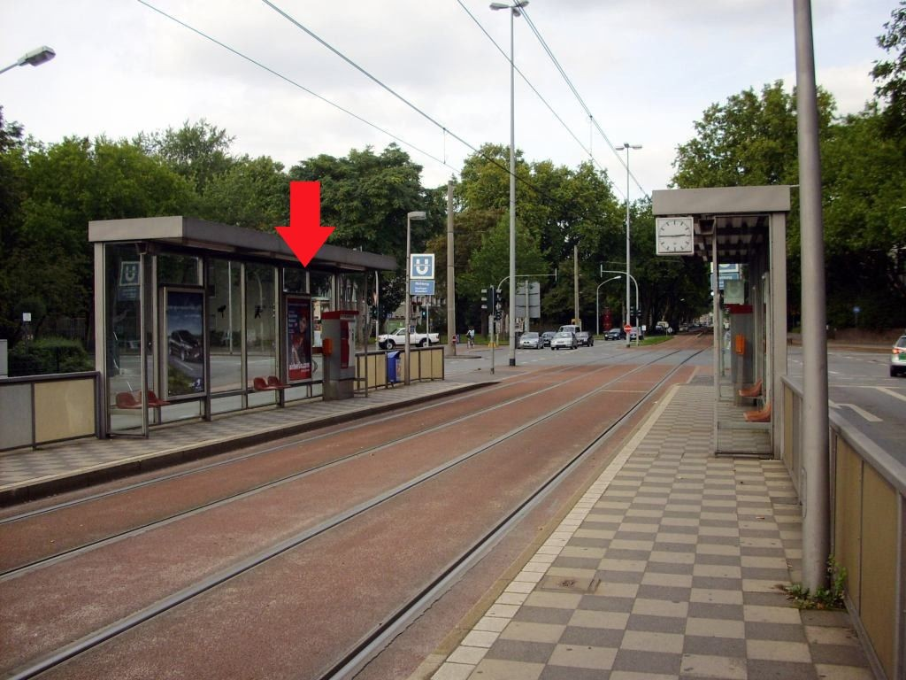 Düsseldorfer Str./Karl-Jarres-Str./Ri. D re./re.VS