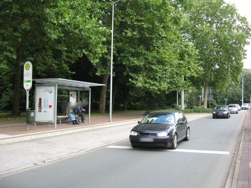Cranger Str./HST Erle Forsthaus/Ri. Horst/außen