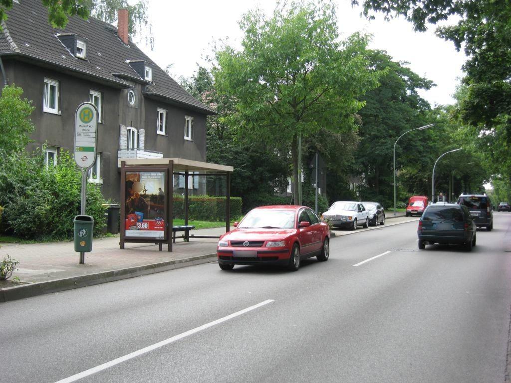 Zum Bauverein/HST Marienfriedstr./Ri. Horst/We.li.