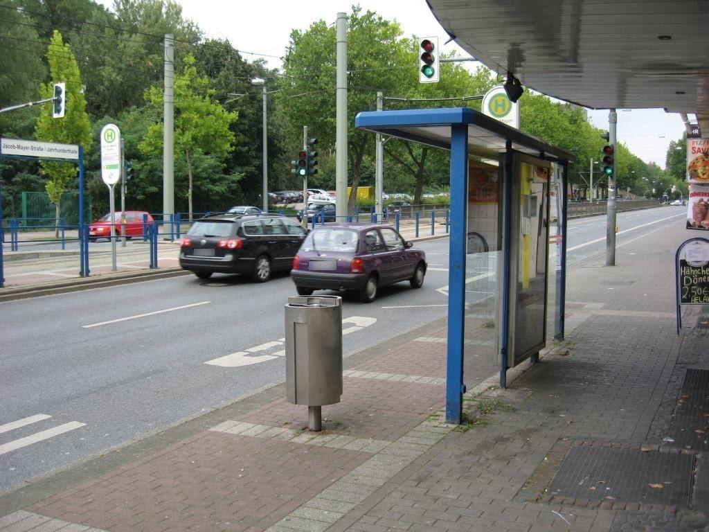 Alleestr. li. neb. 129/Bus-HST sew./RS