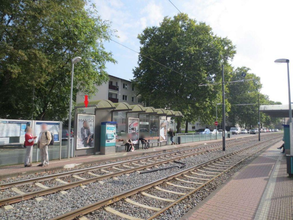 Stresemannallee/Liegnitzer Str. geg./innen li.