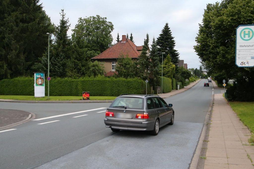 Wefelshof/Stedefreunder Str.