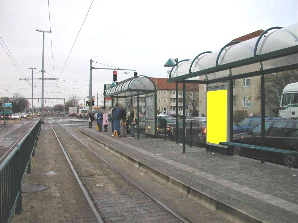Hamburger Str./Siegfriedstr. saw. re./VS