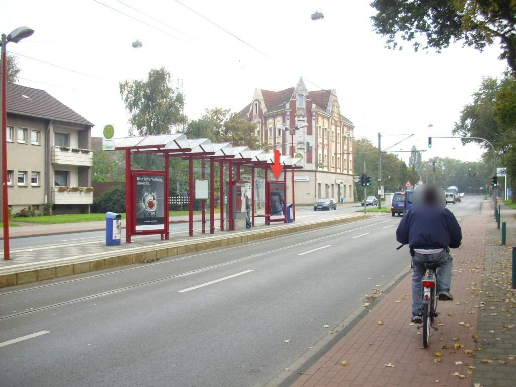 Weseler Str. geg. 265/Striepweg/Ri. DU re.
