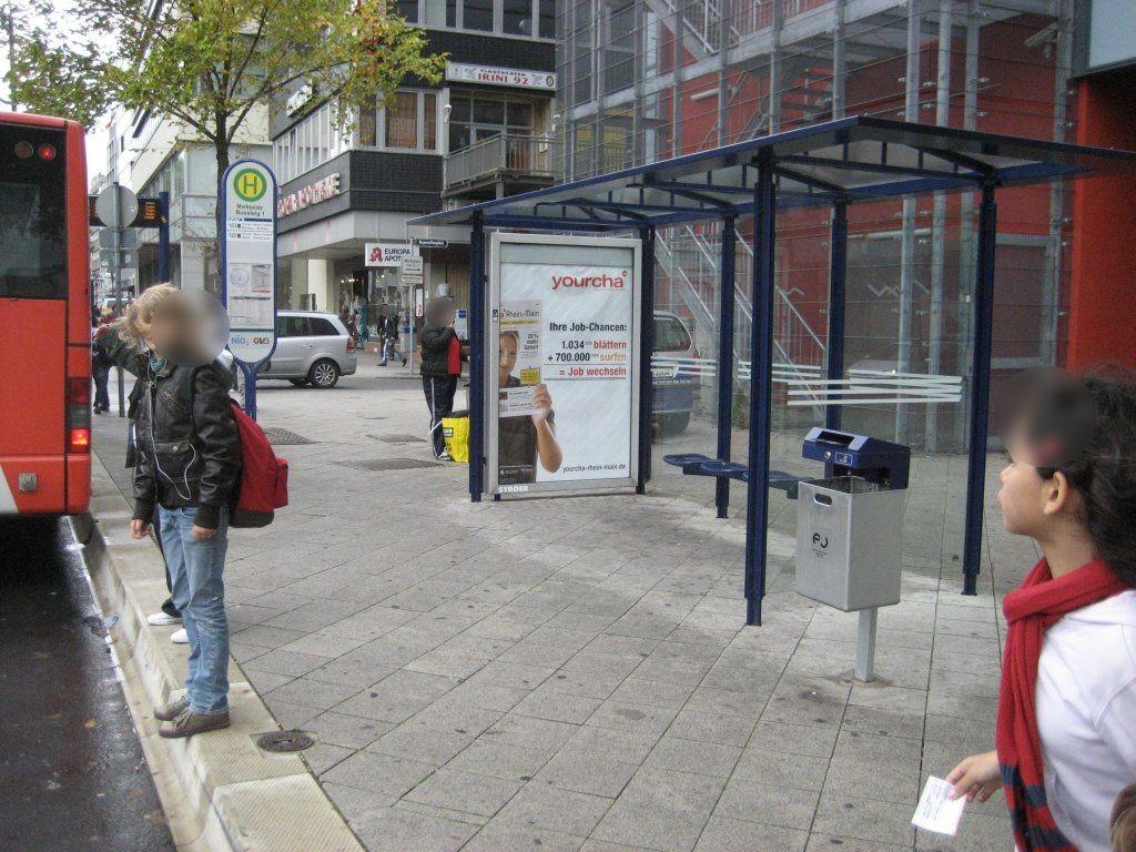 Marktplatz/Berliner Str./Bussteig 1/innen