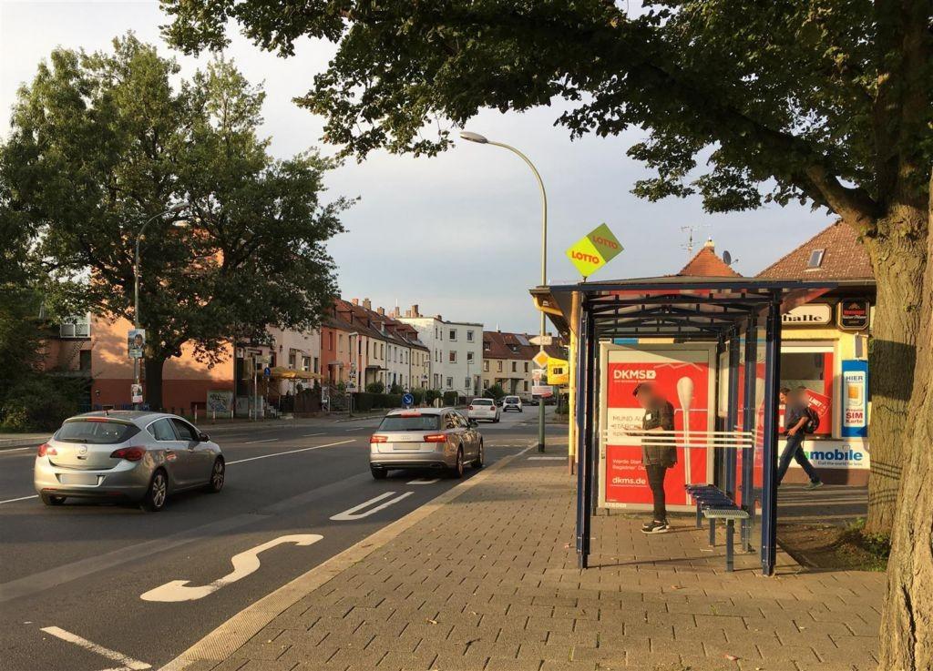 Brunnenweg/D.-Hammarskjöld-Platz/Stadthalle geg.in