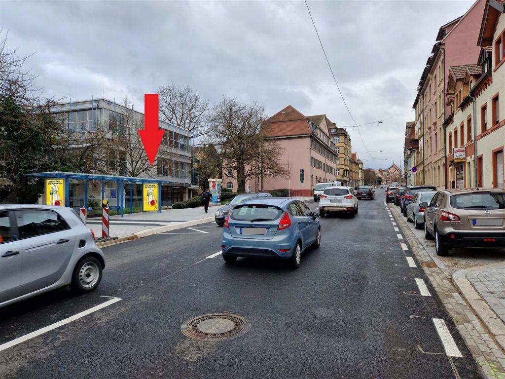 Westl. Karl-Fr./HST Fr.-Erler Nord sew. re./We.li.