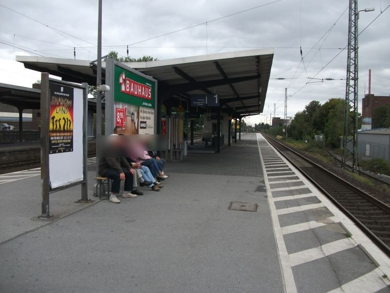 S-Bf Benrath, Bstg., Gleis 1/2 /RS