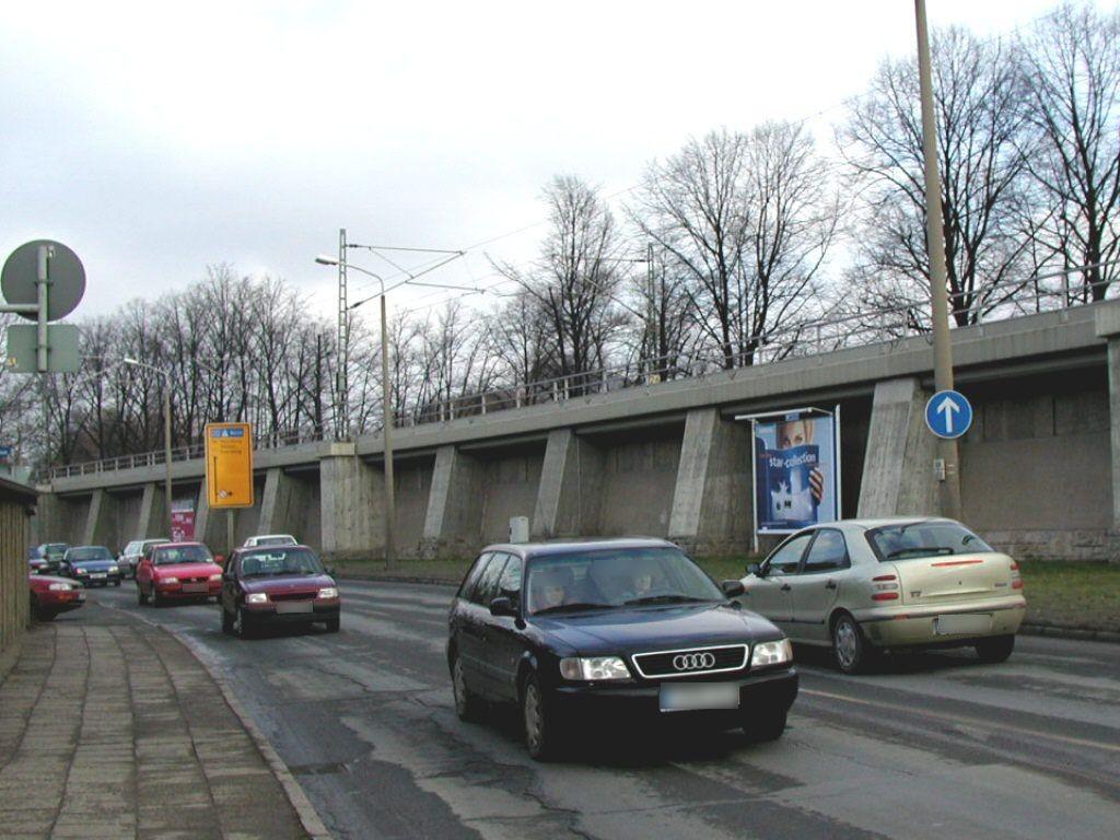 Am Eisenbahndamm li. Nh. Paradiesbrücke