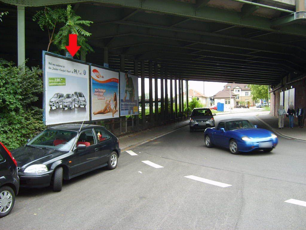 Hauptbahnstr. Ufg. östl. Seite
