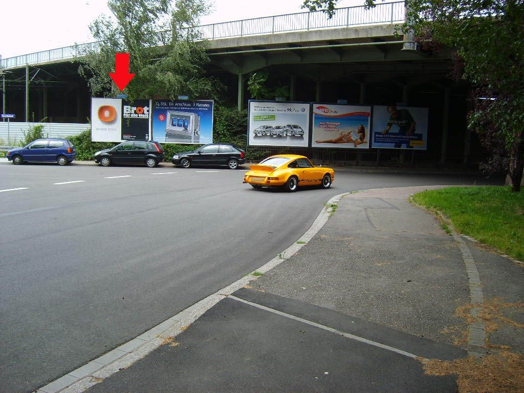 Hauptbahnstr. vor Ufg.
