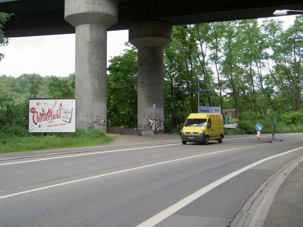 Dudweiler Landstr. unterhalb Johannisbrücke